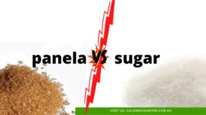 is panela healthier than sugar