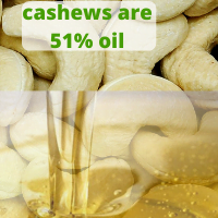 cashew nuts nutrition