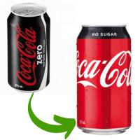 coke zero became coke no sugar