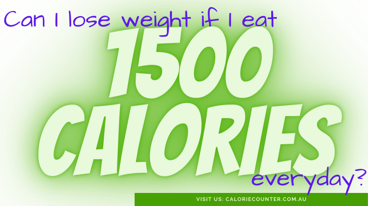 lose weight with 1500 calories