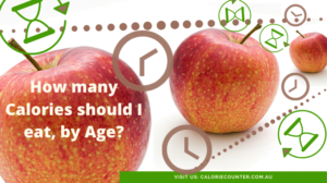 How many calories should I Eat by Age