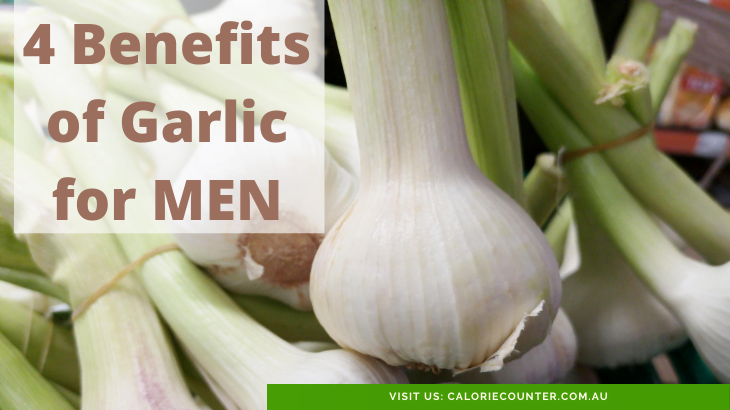 4 Ways Garlic Benefits Men