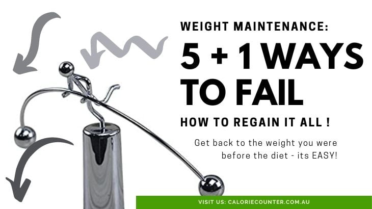 How to fail at Weight Maintenance