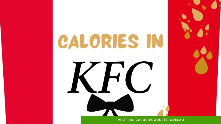 Calories in KFC
