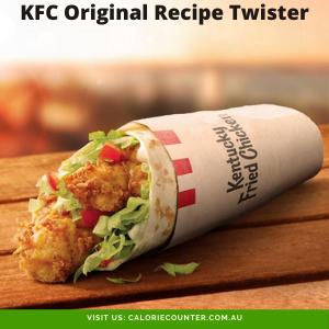 KFC Original Recipe Twister