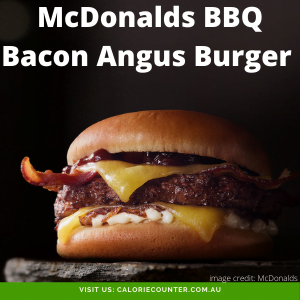 McDonalds BBQ Bacon Angus Burger