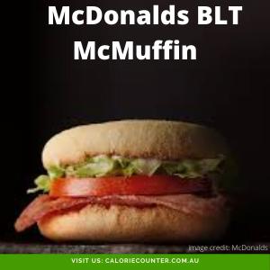 McDonalds BLT McMuffin