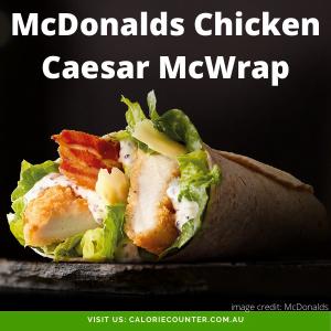 McDonalds Chicken Caesar McWrap