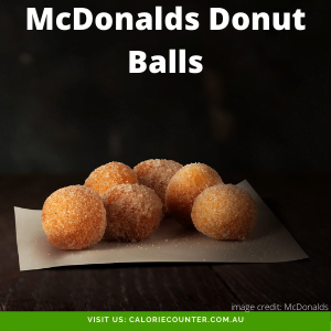 McDonalds Donut Balls