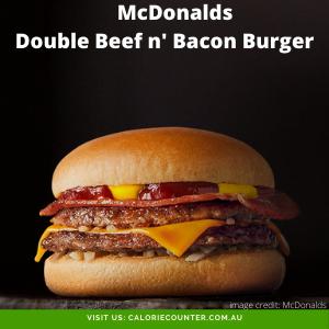 McDonalds DoubleBeefandBaconBurger