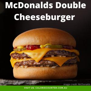 McDonalds Double Cheeseburger