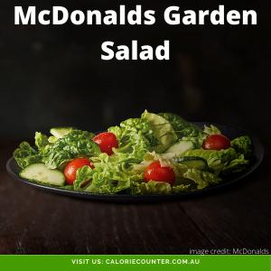 McDonalds Garden Salad