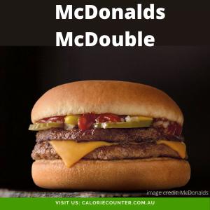 McDonalds McDouble