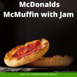 McDonalds McMuffin with Jam