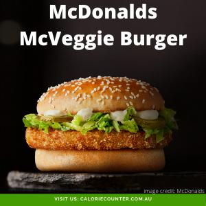 McDonalds McVeggie Burger