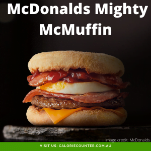 McDonalds Mighty McMuffin