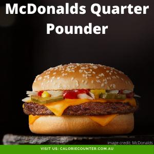 McDonalds Quarter Pounder