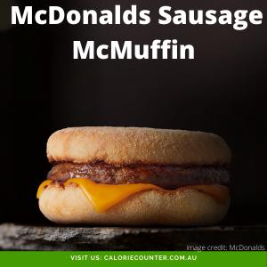 McDonalds Sausage McMuffin