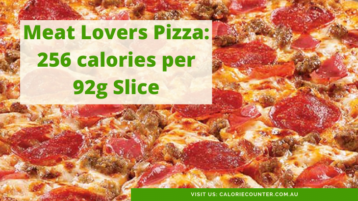 Calories in a slice of Meat Lover's Pizza