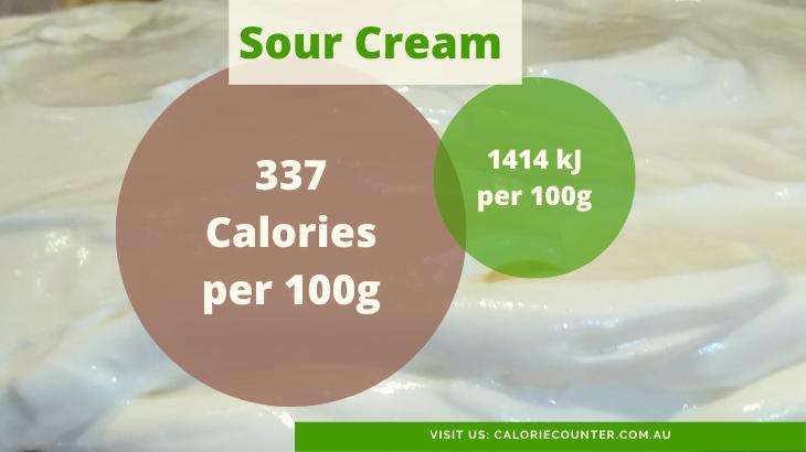 Sour Cream Calories