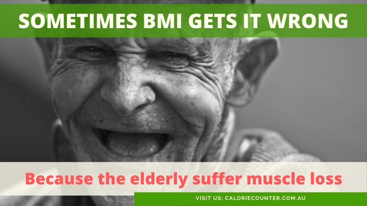 BMI does not work for elderly