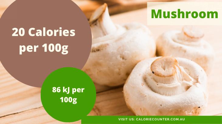 Calories in Mushroom