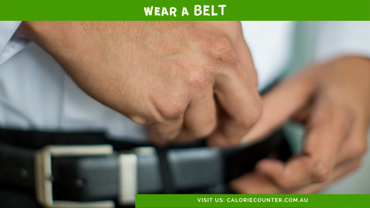 Wear a Belt to Lose Weight Fast