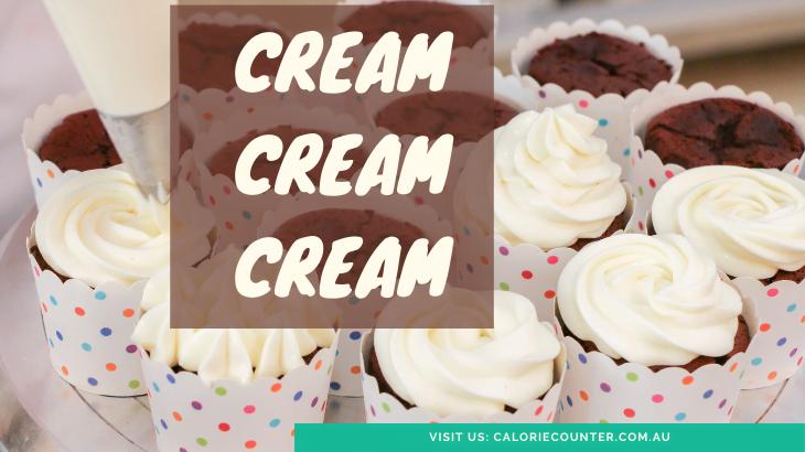 Calories in Cream