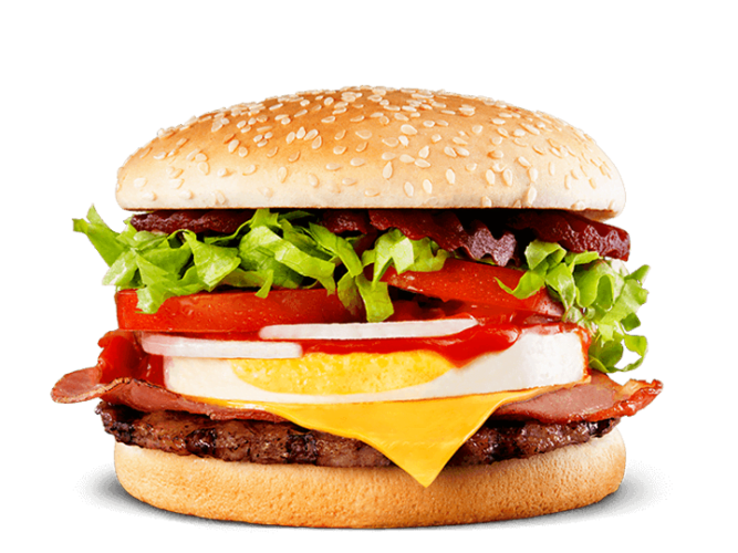 Calories in Hungry Jacks Aussie