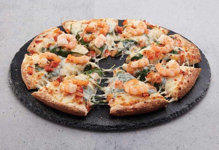 Domino's Garlic Prawn Pizza calories