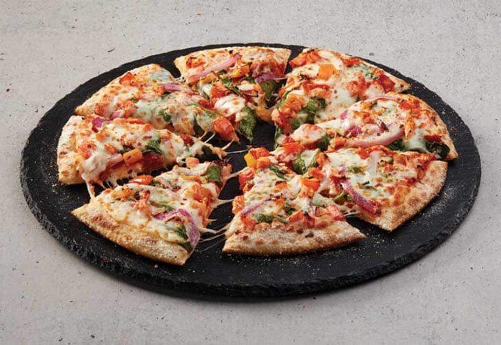 Domino's Spicy Veg Pizza Calories