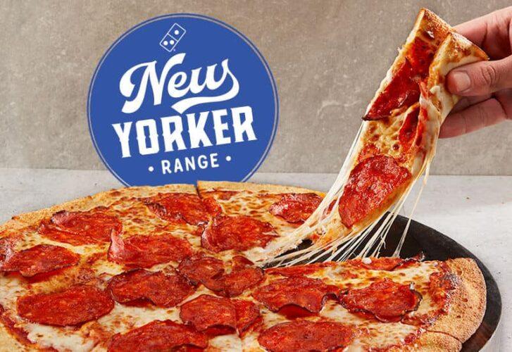 Domino's New York Pizza calories