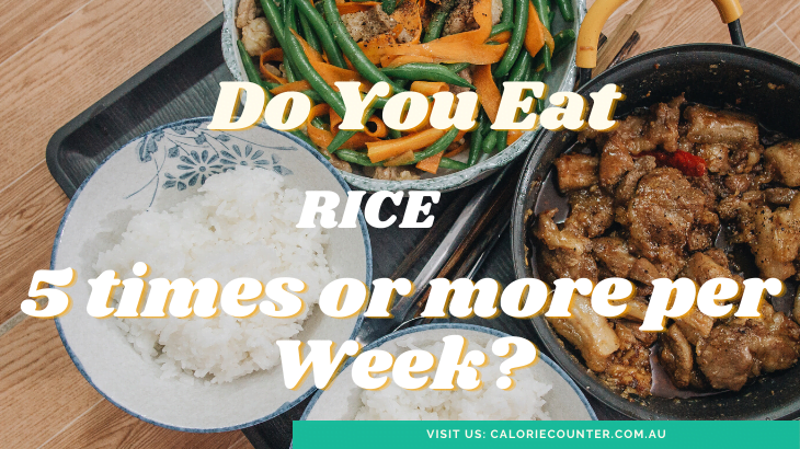Eat rice all the time