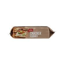 low calorie Coles snack Cracker Squares