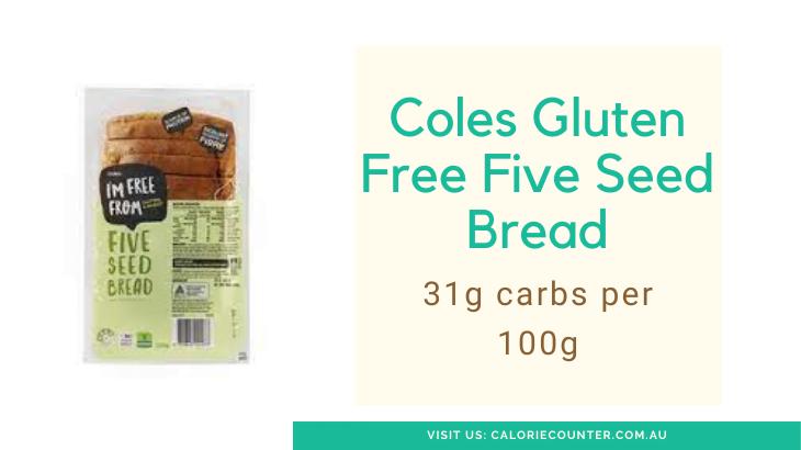 Coles low carb bread