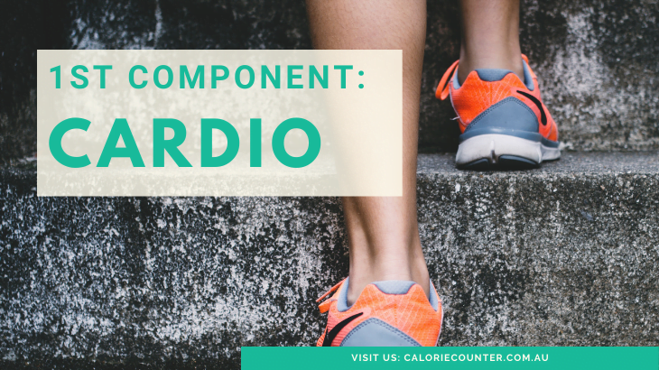 First component of fitness cardio