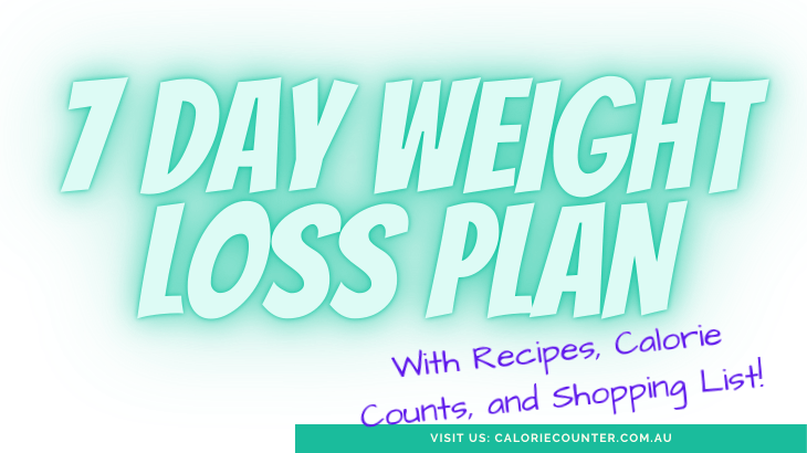 7 Day Weight Loss Plan