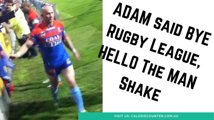 Adam MacDougall Man Shake