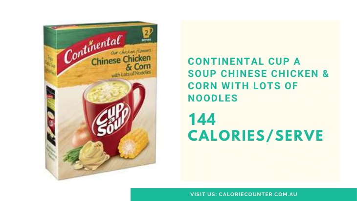 Calories in Cup A Soup