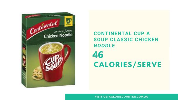 Lowest Calorie Cup A Soup