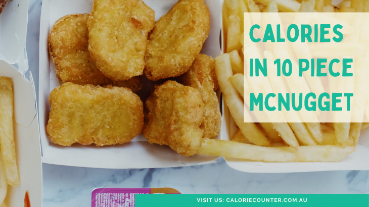 Calories in 10 piece McNugget
