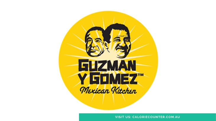Guzman Y Gomez Menu Calories
