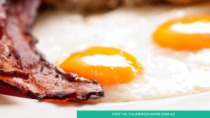 Calories in Bacon and Eggs