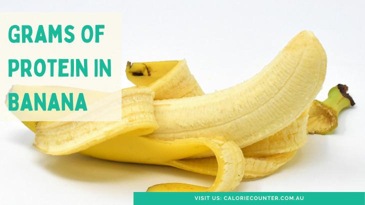 Grams of Protein in Banana