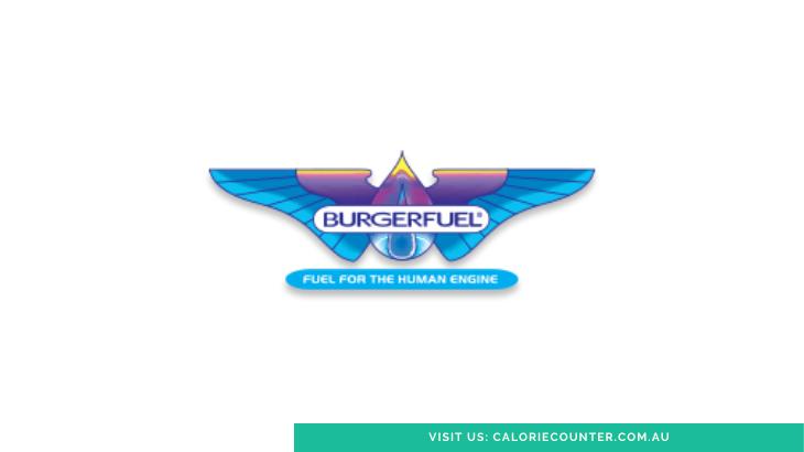 Burger Fuel Menu Calories