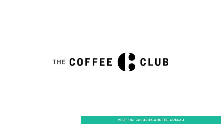 The Coffee Club Menu Calories