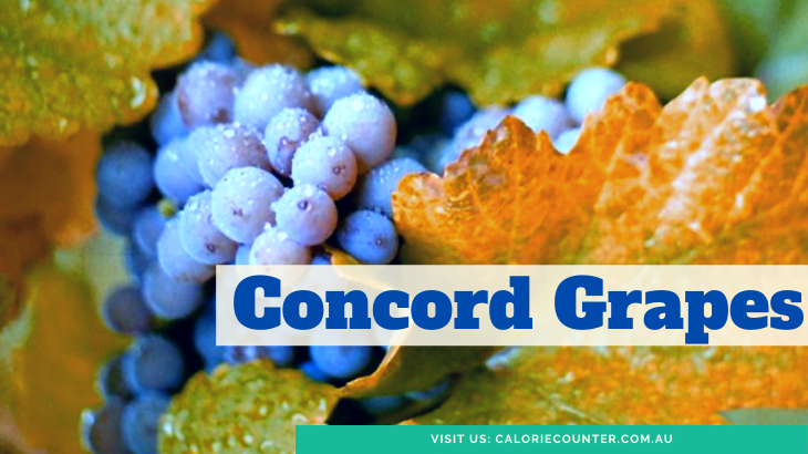 Blue Foods Concord Grapes