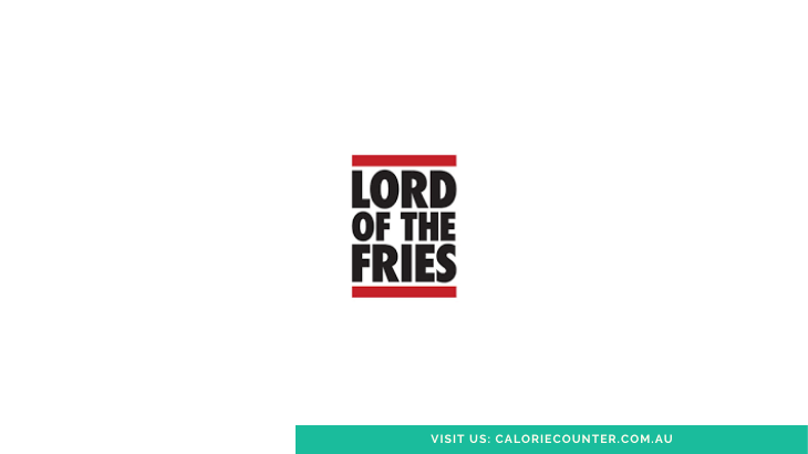 Lord of the Fries Calories