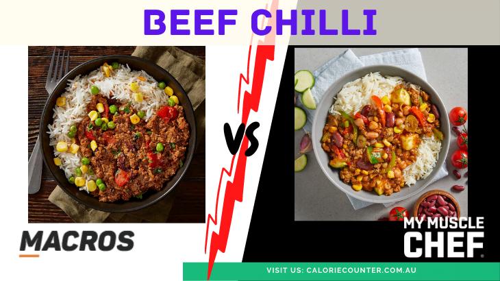 MACROS vs My Muscle Chef Chilli