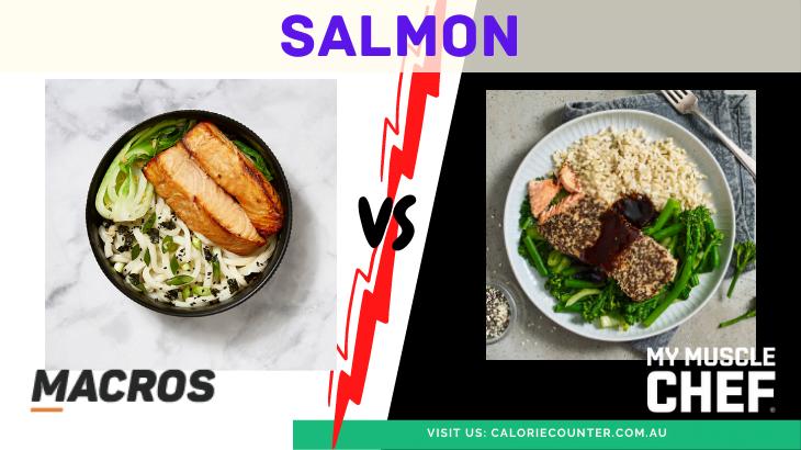 MACROS vs My Muscle Chef Salmon